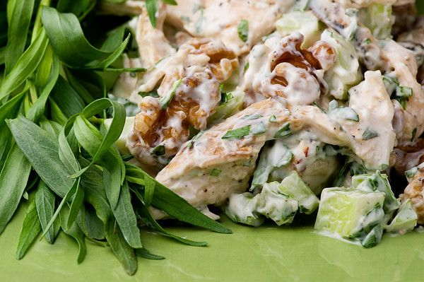 Tarragon Chicken Salad - it's what's for dinner.