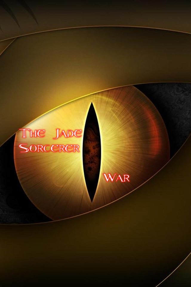 The Jade Sorcerer - War Cover (Second Draft)