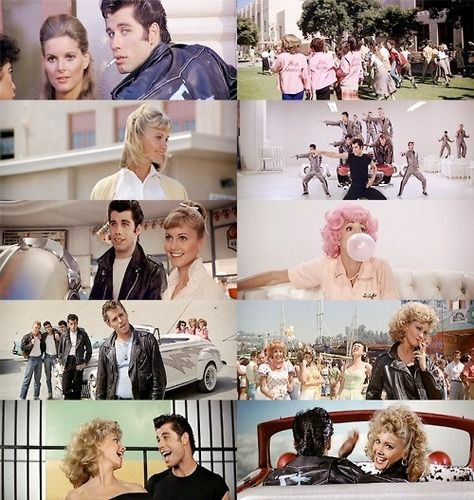 """GREASE"" = Movie (1978)  _____________________________ Reposted by Dr. Veronica Lee, DNP (Depew/Buffalo, NY, US)"