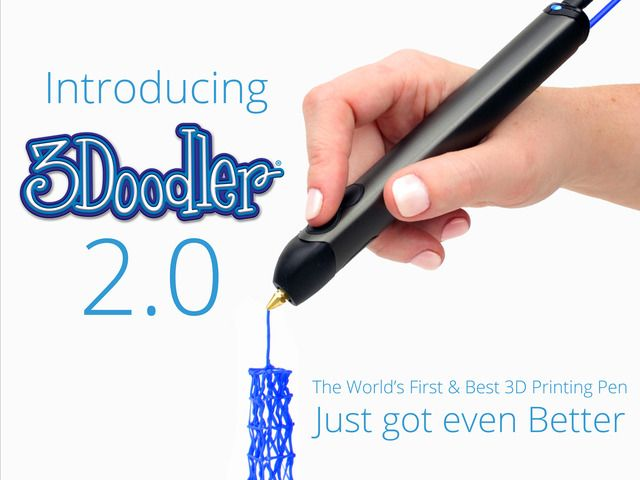 3Doodler 2.0 | Space out your creativity not your focus | it looks cool it's gotta be cool | we love cool tools at goovygap.com | #3doodler #3dpen #creativetools