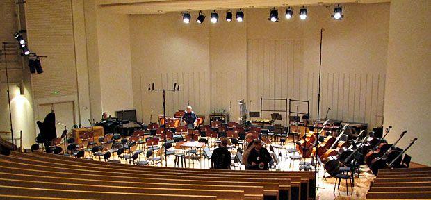 UEF - Joensuu campus. Carelia Hall (Carelia-sali) doubles up as a concert hall.
