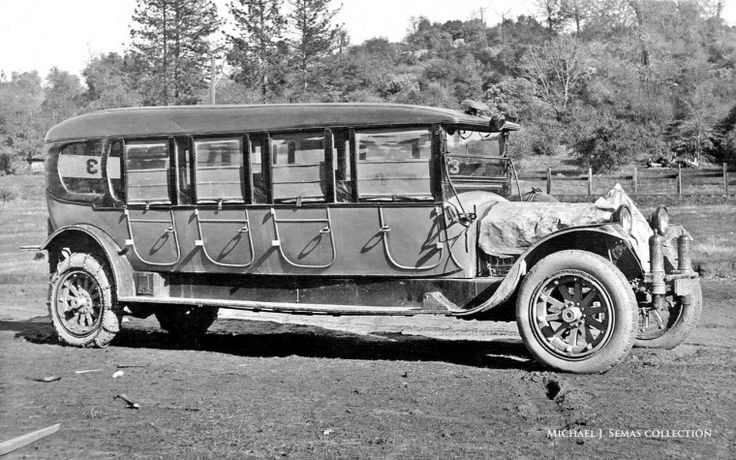 packard auto bus - mid teens