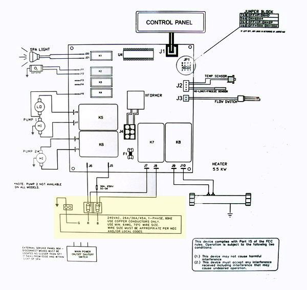 Wiring Diagram For Hot Tubs - Wiring Diagram & Cable Management on