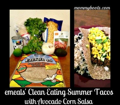 clean eating summer tacos--easy & awesome!