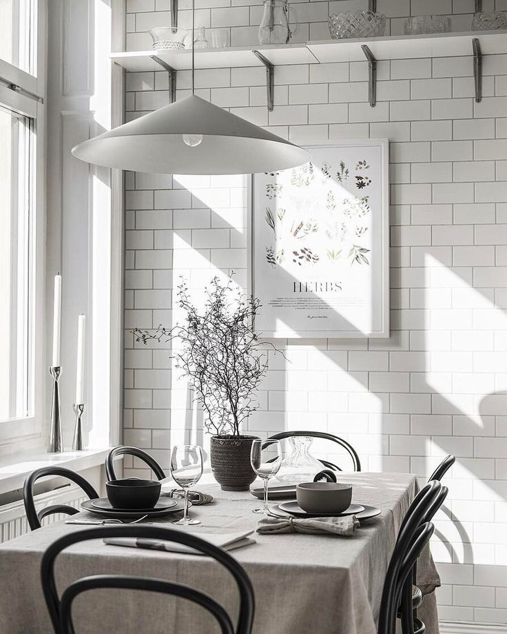 Grey Dining Room | #connox #beunique