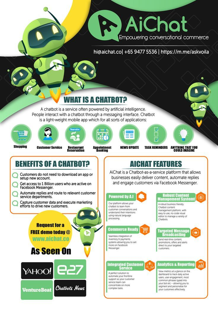 Best article on 21 Flyer Quality Designs for Chatbot