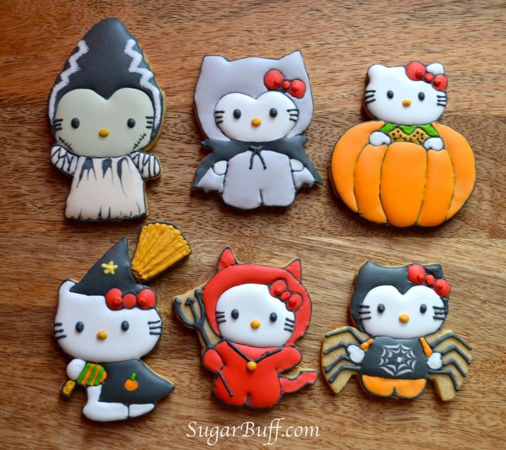 16 hello kitty cookies for halloween top easy design for party decor project easy idea