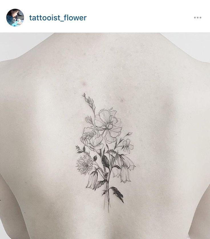 Flower simple tattoo