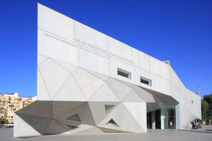 Israel, Tel Aviv, Modern Art Museum by Preston Scott Cohen ©Ludovic Maisant