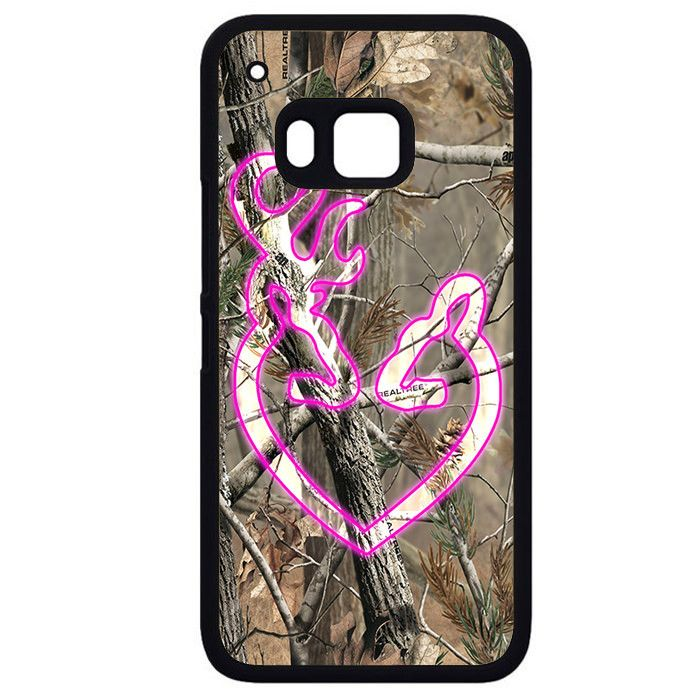 Love Browning Deer Camo HTC Phonecase For HTC One M7 HTC One M8 HTC One M9 HTC One X