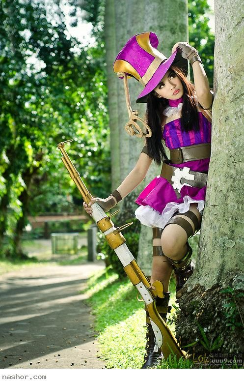 Sexy Caitlyn Cosplay   League of Legend   Pinterest ...