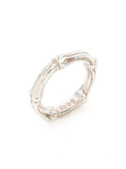 Tiffany & Co. Ca. 1996 Silver Bamboo Band Ring