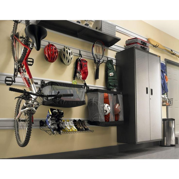 Gladiator 24 in. W Ball Caddy Garage Storage for GearTrack or GearWall-GAWUXXBLTH - The Home Depot