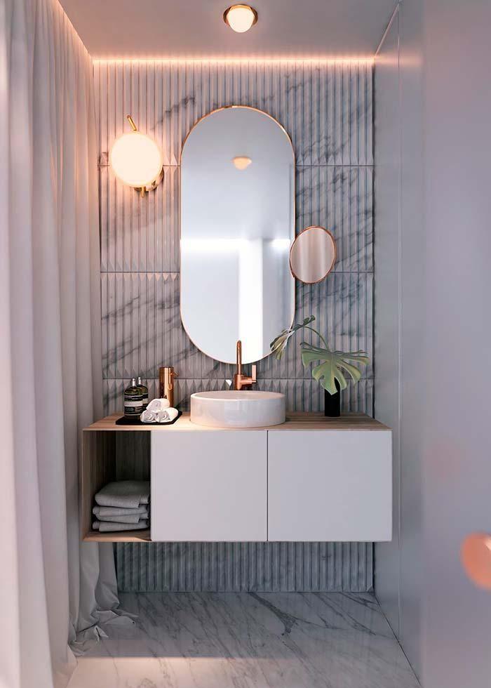 Badezimmerspiegel Tipps Zur Auswahl Des Idealen Modells Kleines