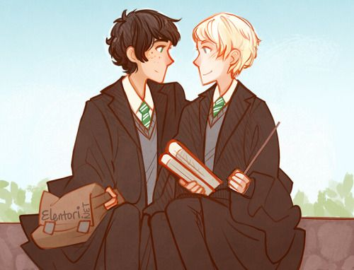 Slytherdorks Albus and Scorpius -the Brotp of the century