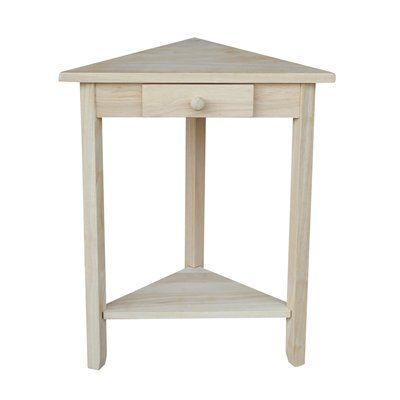 International Concepts OT-95 Corner Accent Table