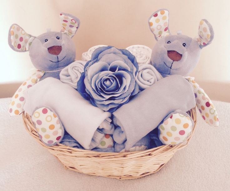 Baby Boy Twins Gift Basket -www.littlelovesgiftbaskets.bigcartel.com BUY HERE!