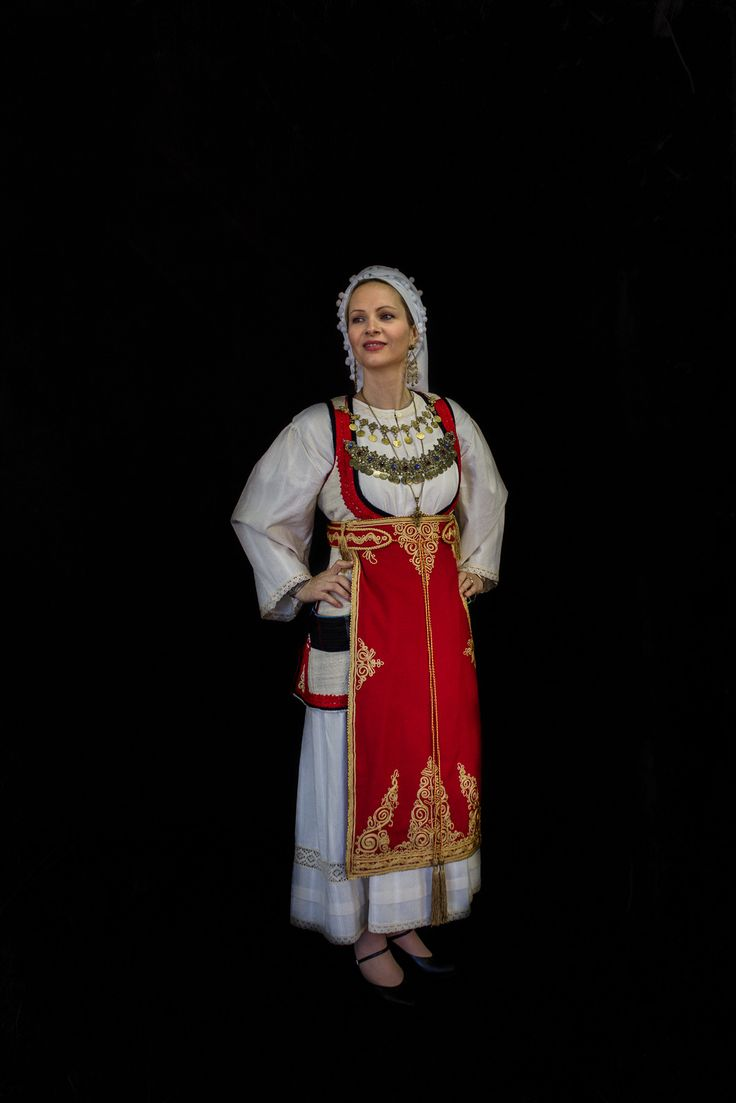Colors of Greece - 2015 photoshoot - Desfina costume from private collection
