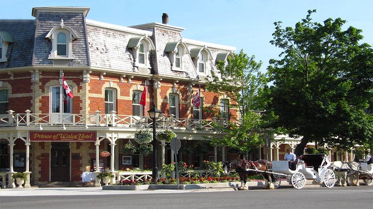 Prince of Wales Hotel with horse & carriage
