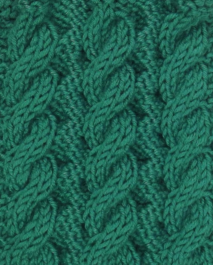 Another great Reversible Cable pattern.  Perfect for scarves.  It can be found in both the Cables & Twisted Stitches and Reversible Stitches categories.