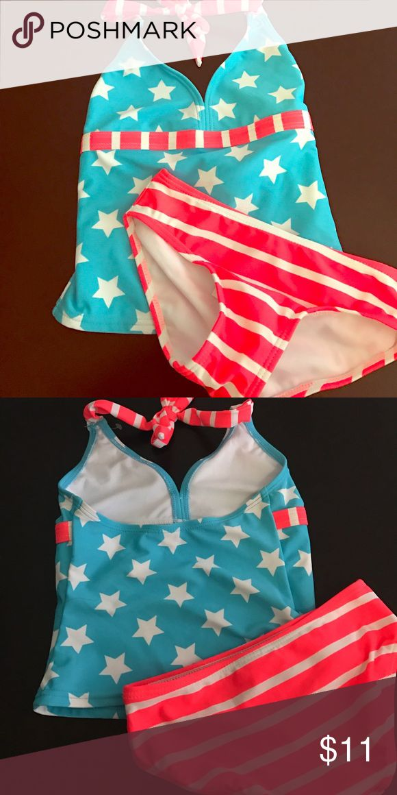 NWT Girls Takini USA Bikini Brand new with tags never worn. Top and bottom come together , if you want to mix and match sizes or pieces just let me know:) you can get discounts for bundles! Ships within 24 hours M-F . UPF 50+ sun protection Circo Swim Bikinis