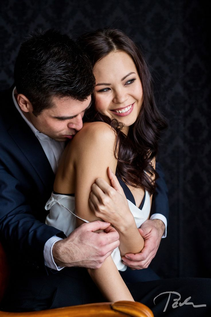 beautiful and #fashion young #couple in a #photography studio in #prague by pelucha