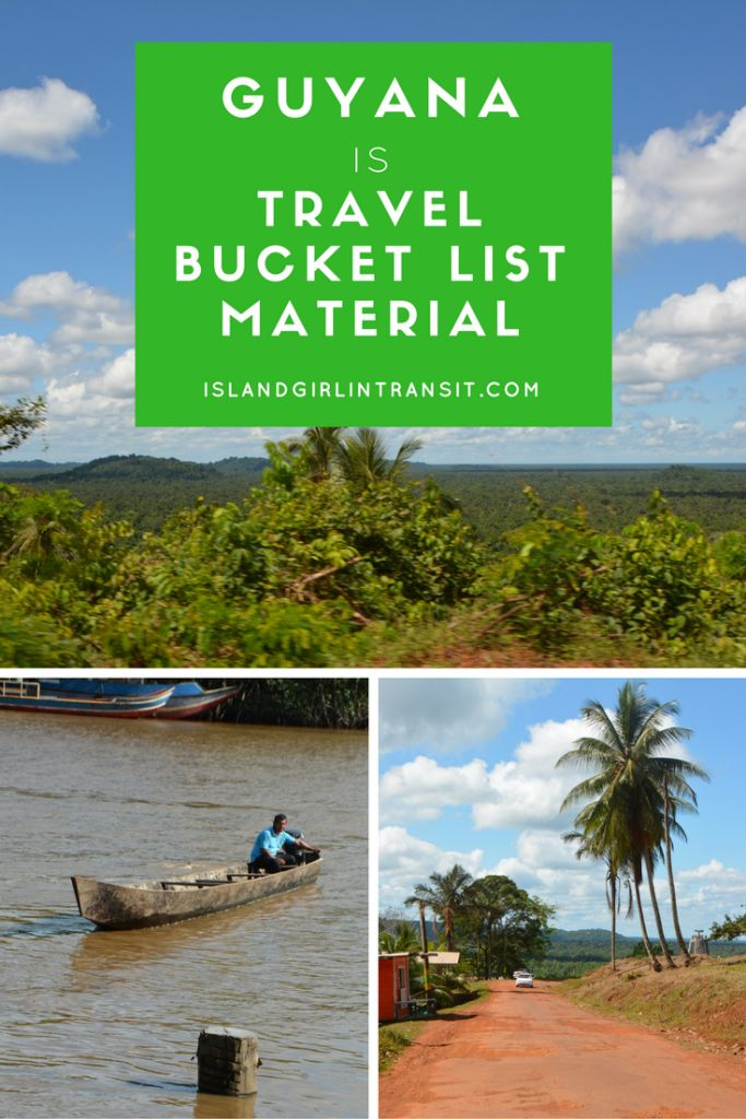 Why Guyana is indeed travel bucket list material!