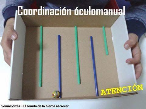 El sonido de la hierba al crecer: Actividades de coordinación óculomanual