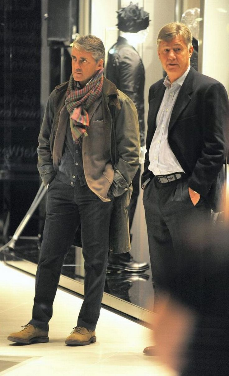 Roberto Mancini steps out in style for launch of Armani store