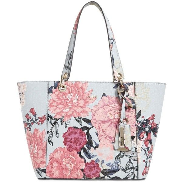 Guess Kamryn Extra-Large Tote ( 98) ❤ liked on Polyvore featuring bags 5d291989074