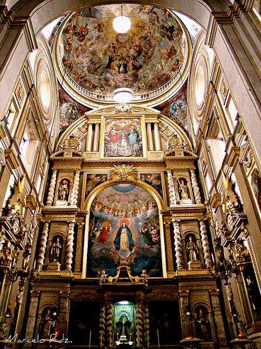 La Imaculada Concepcion Catedral de Puebla, Mexico