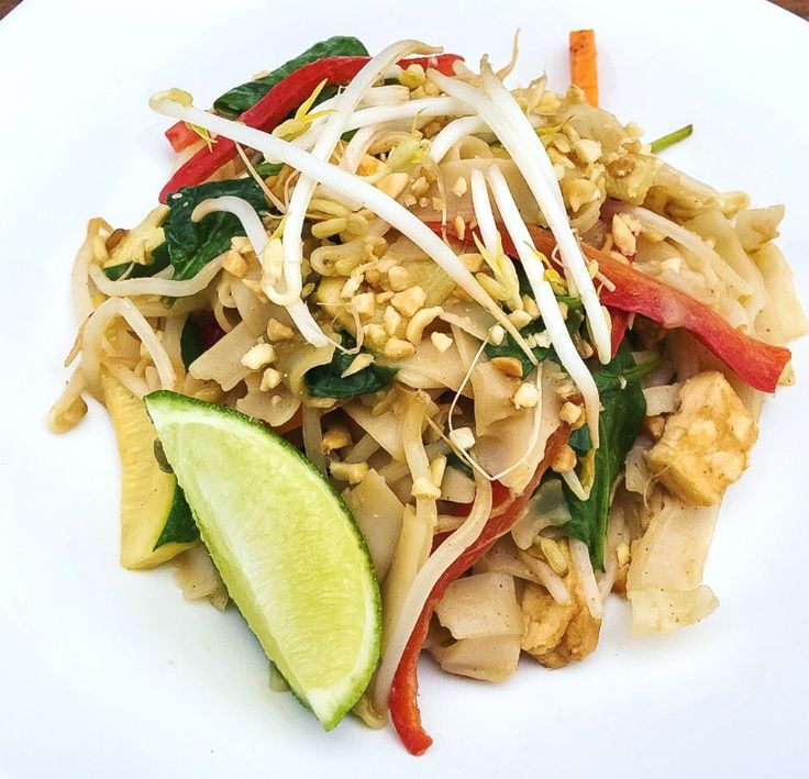 This healthy version of a pad thai has all the flavour and colour but none of the excessive amounts of sugar and oil that you might find in a restaurant.
