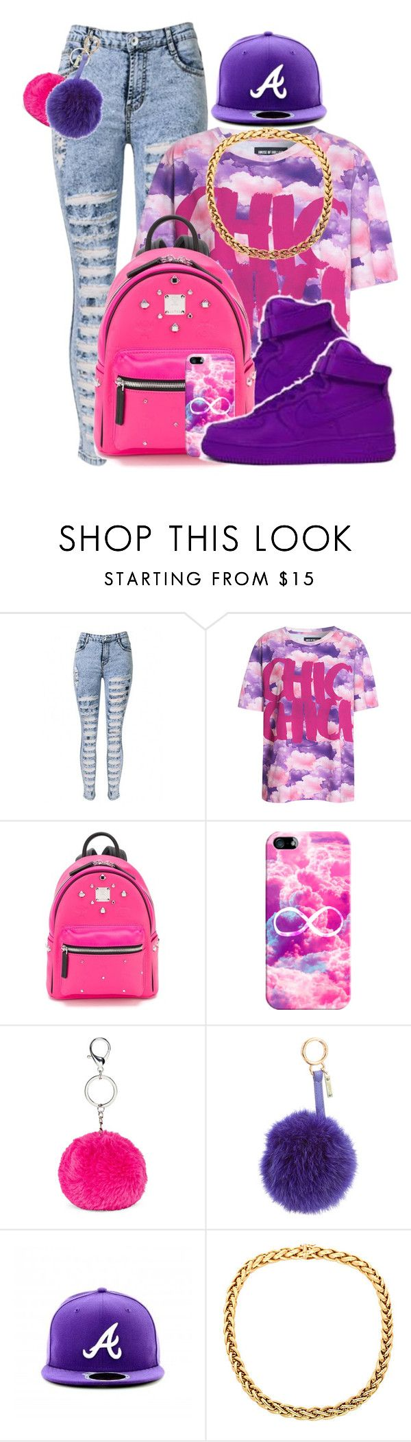 """""""Dope Swag 2016"""" by bxby-girl-rielle ❤ liked on Polyvore featuring House of Holland, NIKE, MCM, Casetify and Fendi"""