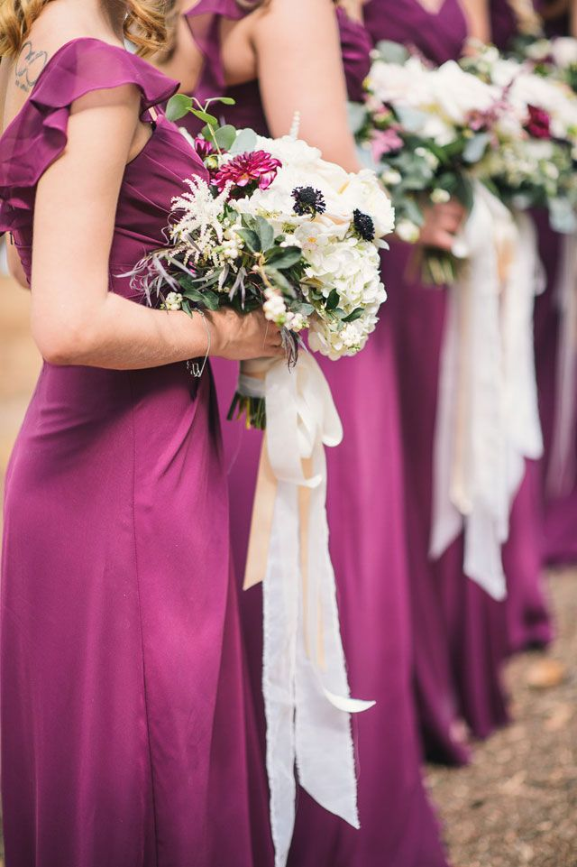 126 Best Images About Purple Bridesmaid Dresses On