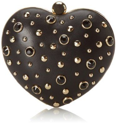 Amazon.com: Juicy Couture Juicy At Heart Minaudiere Evening Bag,Black,One Size: Shoes
