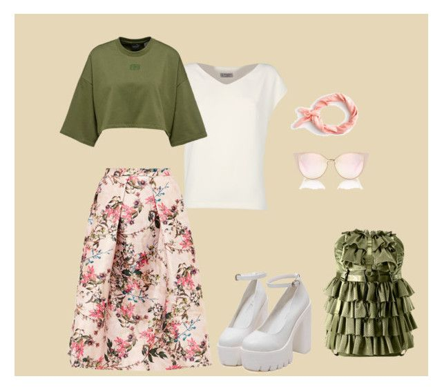 """""""obraz 2"""" by sun-ms on Polyvore featuring мода, Alberto Biani, Ted Baker и J.Crew"""