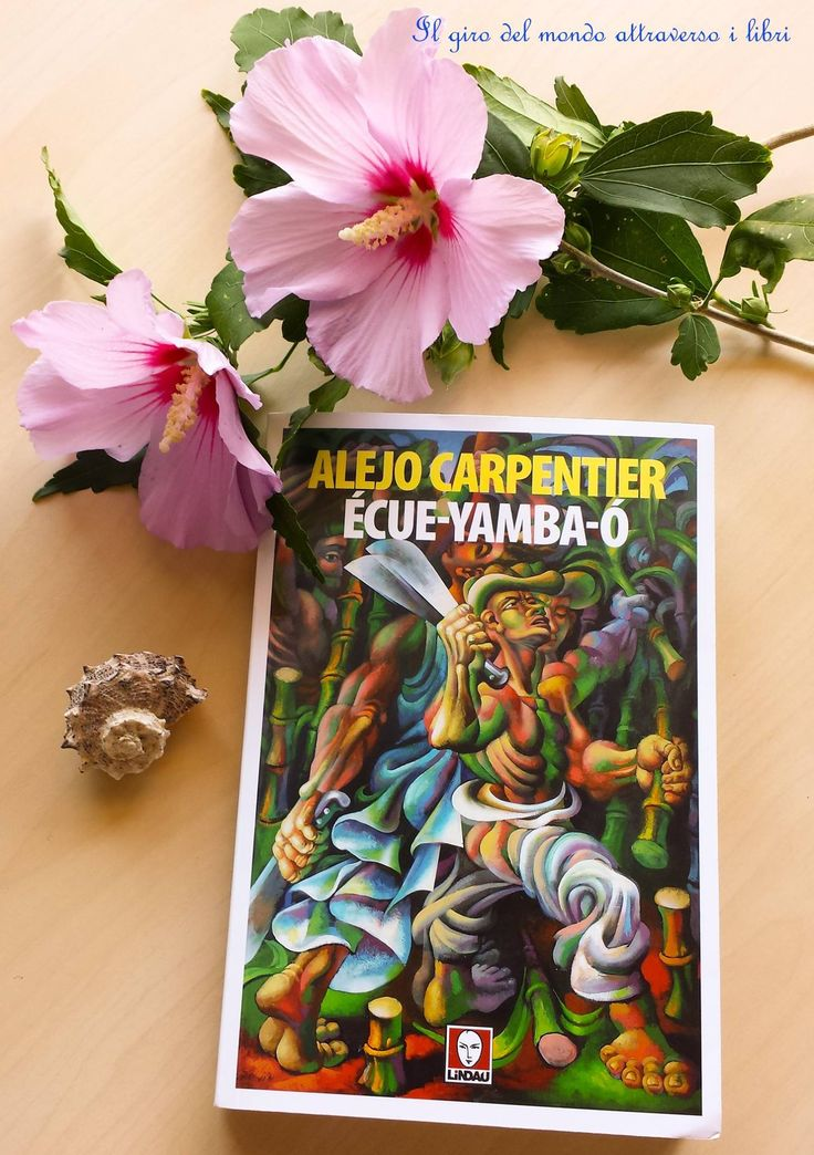 Claudia di girodelmondoattraversoilibri.wordpress.com sta leggendo #EcueYambaO di #AlejoCarpentier :)