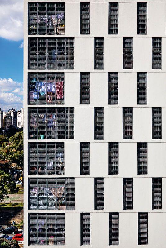MMBB Arquitetos e H+F Arquitetos: Habitação de interesse social, São Paulo