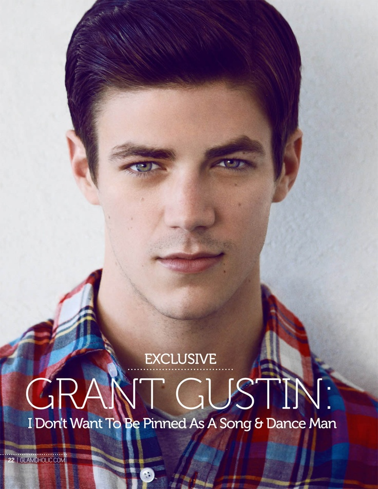 Grant Gustin :) My heart just skipped a beat!!!