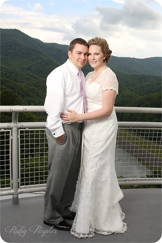 A Destination Wedding In The North Carolinas Great Smoky Mountains And On Fontana Lake Is
