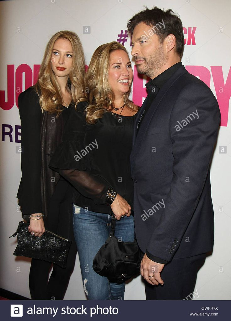 Download this stock image: NEW YORK, NY-September 12:Georgia Connick, Jill Goodacre and Harry Connick Jr at Universal Picture & Working Title Films present the American premiere of Bridget Jones Baby at the Paris Theatre in New York. September 12, 2016. Credit:RW/MediaPunch - GWFR7X from Alamy's library of millions of high resolution stock photos, illustrations and vectors.