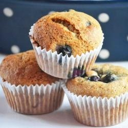 Banana Blueberry Muffin recipe