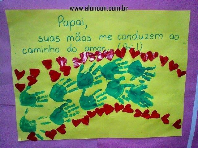 44 Ideias de Murais para o Dia dos Pais - Educação Infantil - Aluno On