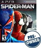 Spider-Man: Shattered Dimensions — PRE-Owned - PlayStation 3