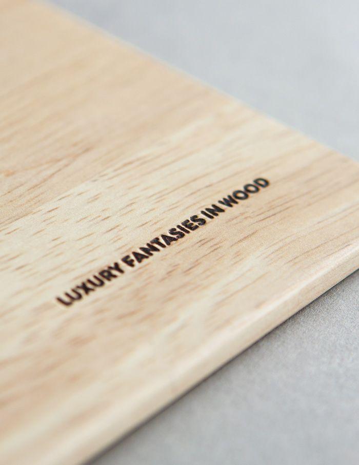Woodarts - diepdruk   by Skinn Branding Agency
