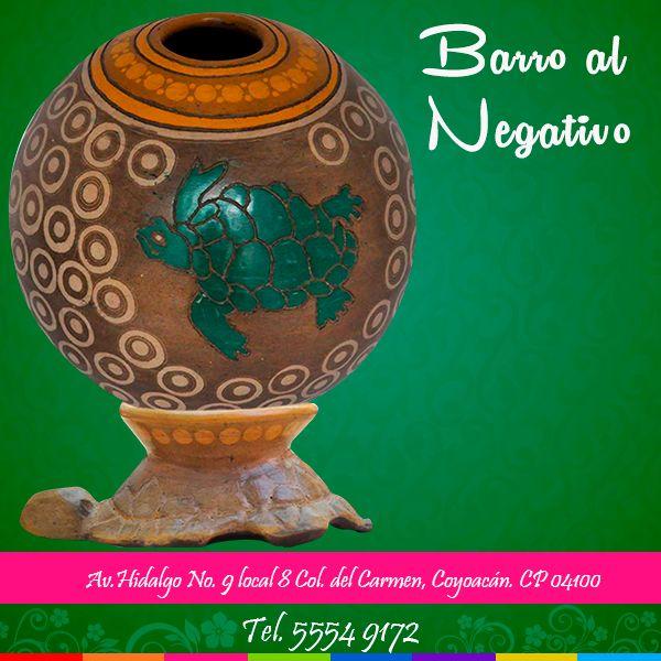 ¡Ven y conoce las artesanías del estado de #Michoacán¡  Para mayor información comunícate al 55 54 91 72 o visítanos en Av.Hidalgo No. 9 local 8 Col. del Carmen, Coyoacán. CP 04100.  #michoacan #artesanía #barro #color #negativo #mexico