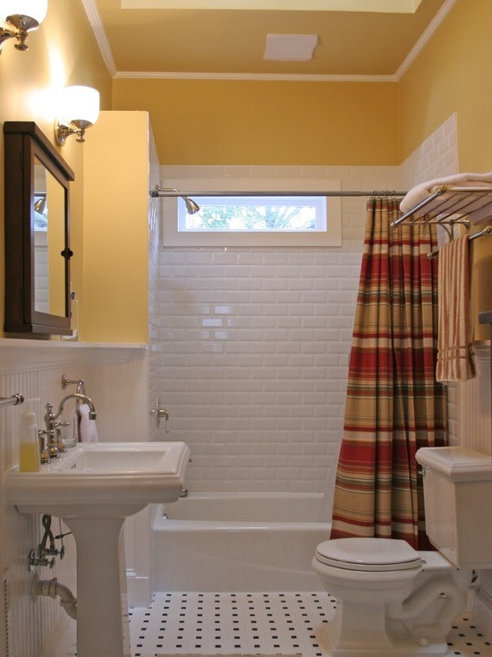 Board With Ledge Bathroom Small Traditional Cape Cod Style Bathrooms