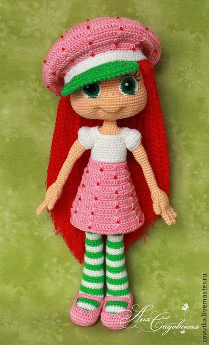 Шарлотта Земляничка. Crochet Doll