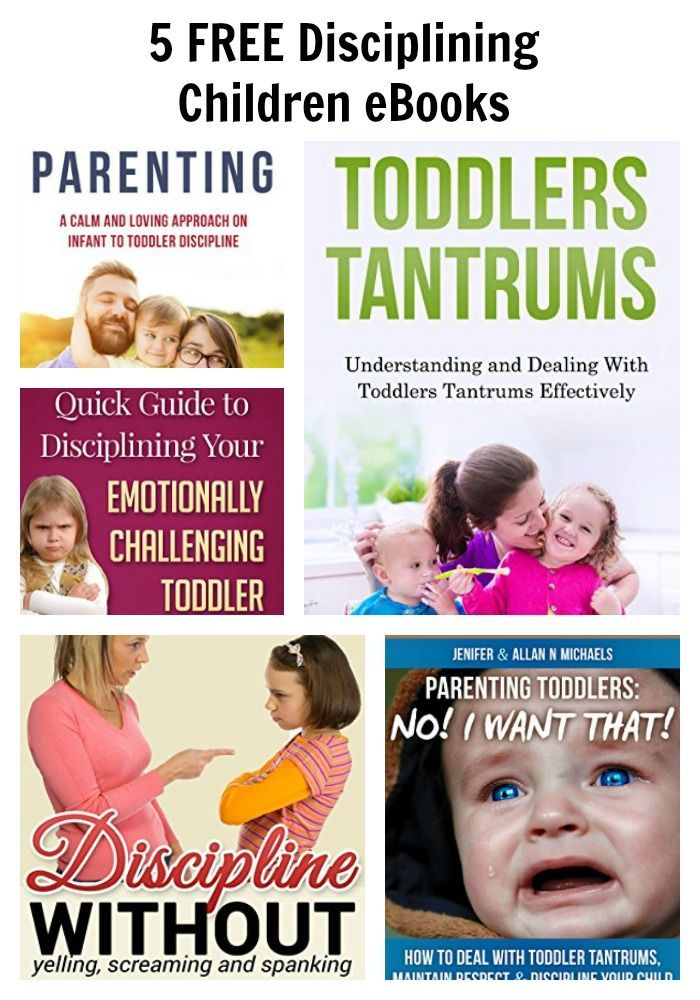 5 FREE Disciplining Children eBooks