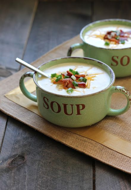 Baked in Arizona: Potato Soup